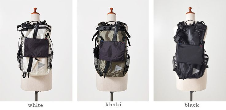"""and wander(アンドワンダー)コーデュラナイロン防水バックパック30L """"30L backpack"""" aw-aa912"""