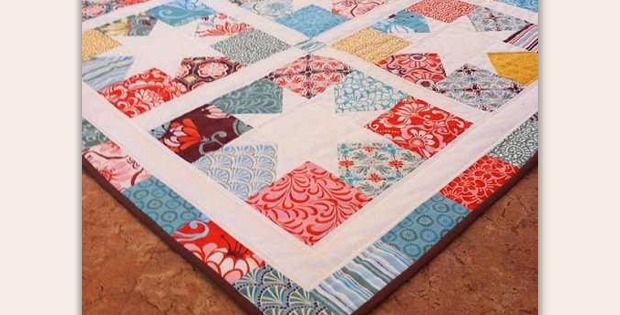 Very Little Cutting is Required for These Charming Stars! This lovely quilt top will stitch together in no time. Just choose 3 charm packs and get started. There's minimal cutting to do and it all goes together quickly and easily, even for beginning quilters. Quilt photo above and at the top of the page courtesy …