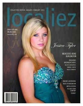 Jessica Tyler - Localiez Magazine Pictures | HQ .. Makeup Done by Franca Pedulla From Ooh, La, La, in Milton