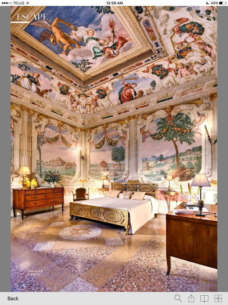 Ornate Italy Architecture Beautiful Interiors
