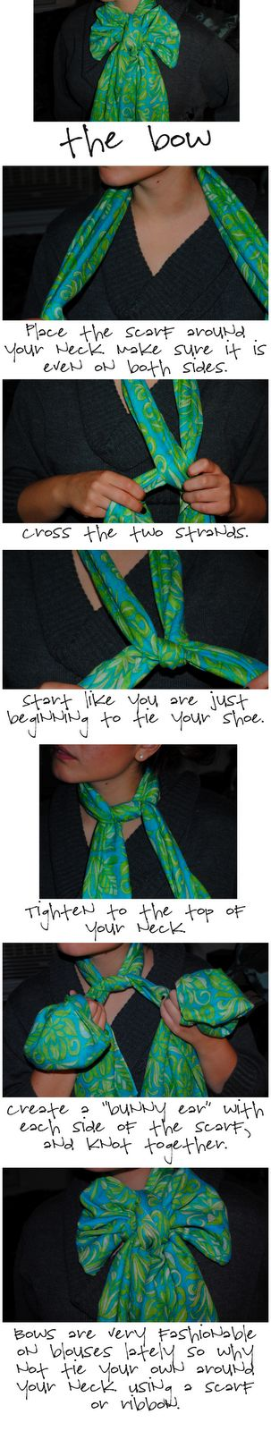 How to make your Lilly Pulitzer Murfee Scarf into a BOW! You can do this with any scarf!! Been doing it for a while!!