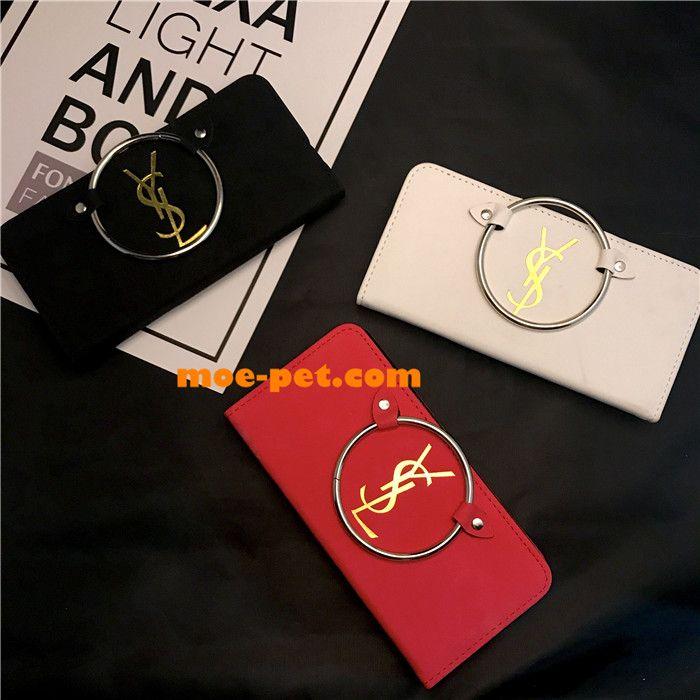 ysl アイフォン8 plusケース カード入れ