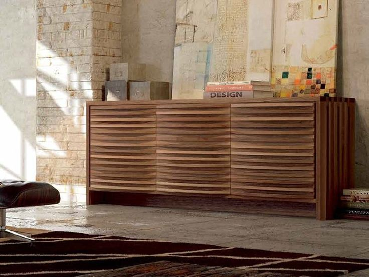 Dale Italia A-120 Sideboard in solid walnut - Natural finish