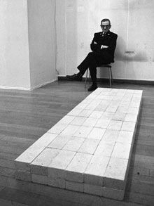 1966: Equivalent VIII by Carl Andre