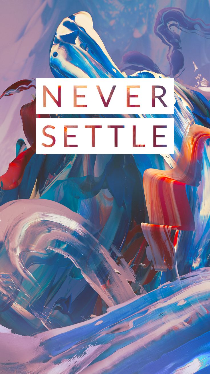 Download OnePlus 3 %22Never Settle%22 wallpaper
