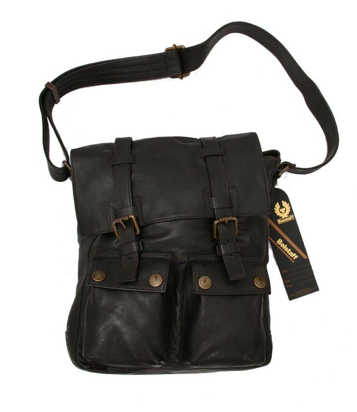 men's purses | Belstaff - New Man Bag - Antique Black #menpurses