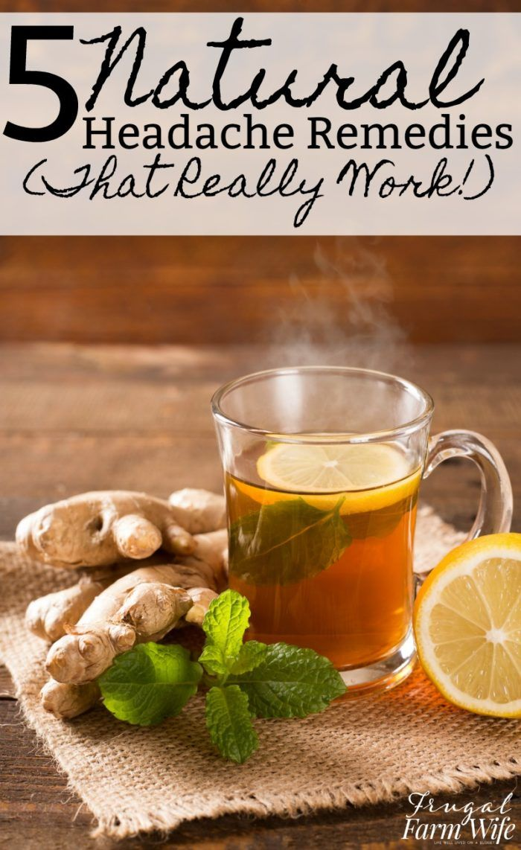 Natural headache remedies that really work!