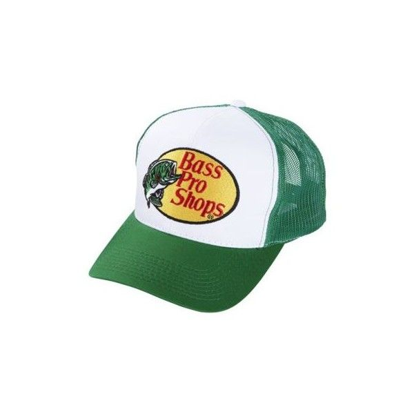 Bass Pro Shops Embroidered Logo Mesh Caps (20 BRL) ❤ liked on Polyvore featuring accessories, hats, cap hats, mesh hats and mesh cap