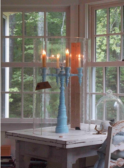 Dunes U0026 Duchess Candelabra With Hurricane Shelter. Very Romantic Piece Photo Gallery