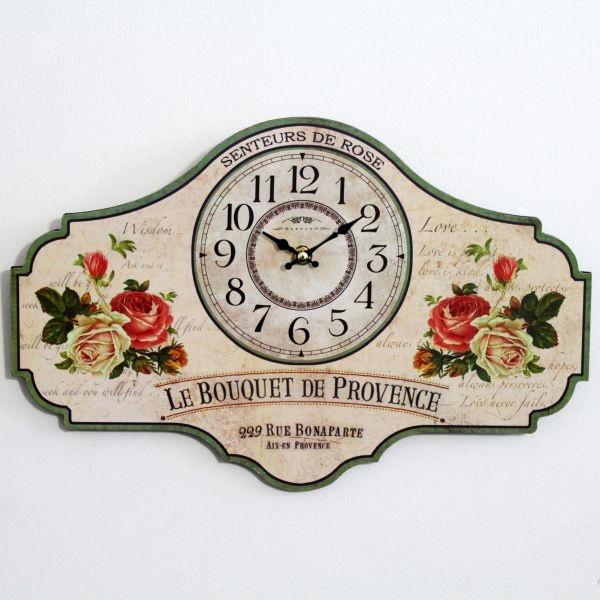 Zegar w kwiaty I - CENA: 43,00 zł