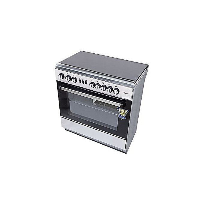 fab8dd8873f1 Cuisinière 5 Feux – Inox - 5580 - Garantie 1 An   Électroménager pas cher  sur