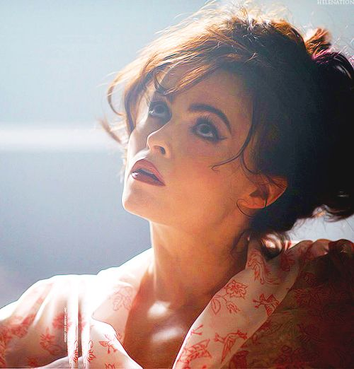 helena bonham carter... I have the biggest girl crush on this woman <3