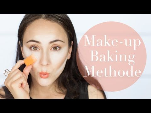 ▶ Make-up BAKING Methode I How To I German I Hatice Schmidt - YouTube