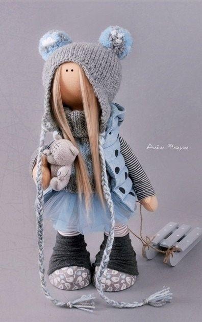 Decoración muñeca juguete Tilda muñeca muñeca por AnnKirillartPlace