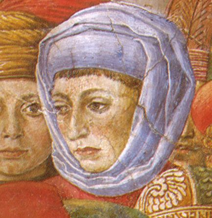 Contessina de' Bardi, wife of Cosimo Medici, born in 1390 and died in Florence in 1473.  They had two children.