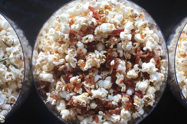 ahorn-spek popcorn just made it And it is yummie