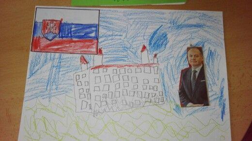 Bratislavsky hrad a prezident