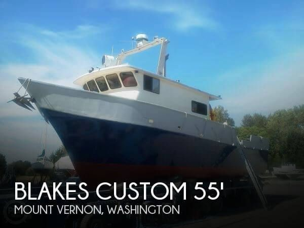 Pre-owned 1989 Blakes Custom 55 Packer pilothouse boat (6,348 hrs) for sale in Mount Vernon, Washington - $295,000.  View 83 photos, features and a good...