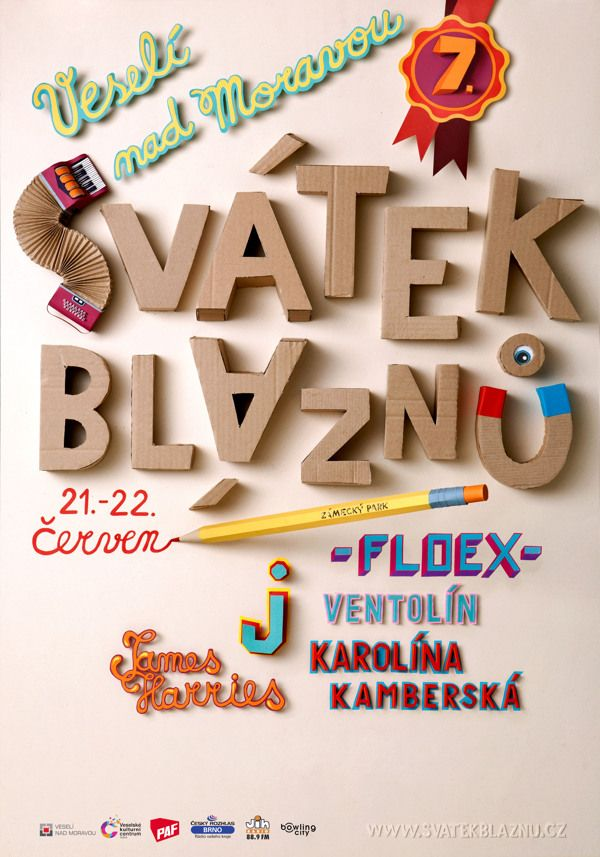 Svatek Blaznu On Behance