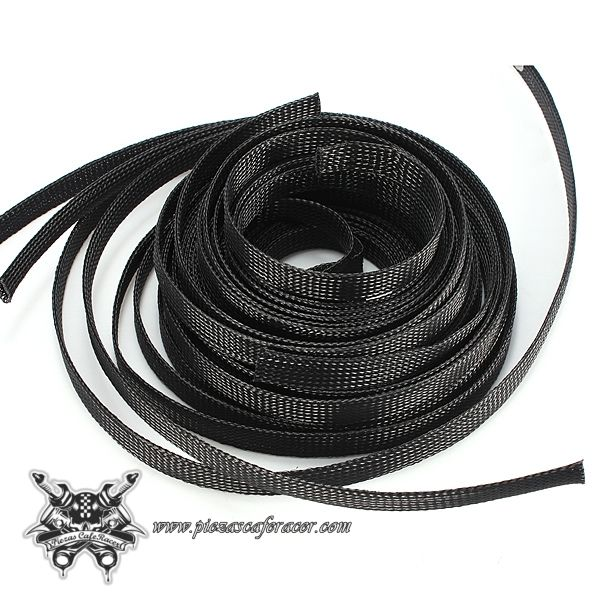 Cable Expandible / Franela 12mm Para Cableado de Coche Moto Color Negro Diferentes Tamaños - Envío Gratis a Toda España - 2,10€