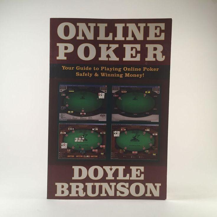Doyle Brunson Online Poker 2007 Cardoza Tournament Cash Game Strategy Internet 1580421199 | eBay