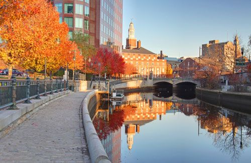 Fall in Providence!!! if you ever go, please book La Gondola...one of the most AMAZING and romantic experiences I've ever had!!!!!!!