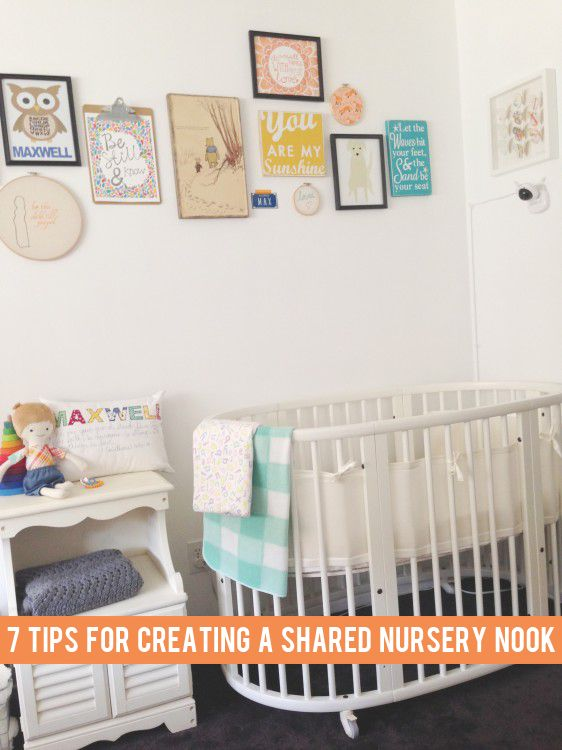 7 tips for creating a nursery space in a shared bedroom