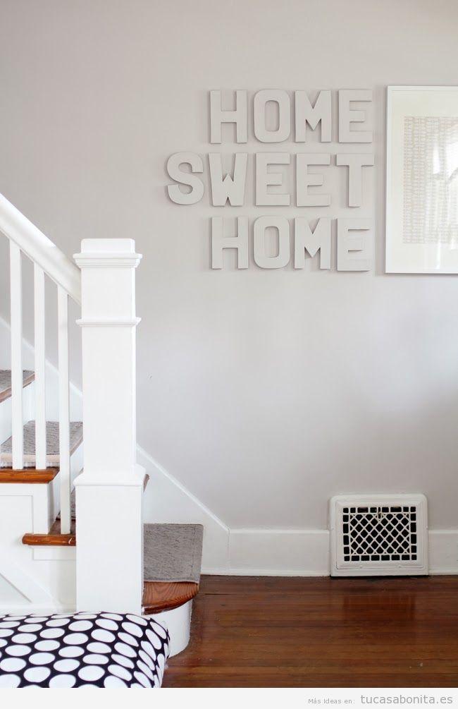 Letras de madera para decorar pared de casa 2 home - Casa letras madera ...