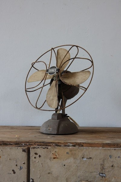 Vintage fan industrial beautiful retro ventilator – We collect similar ones – Only/Once – www.onlyonceshop.com