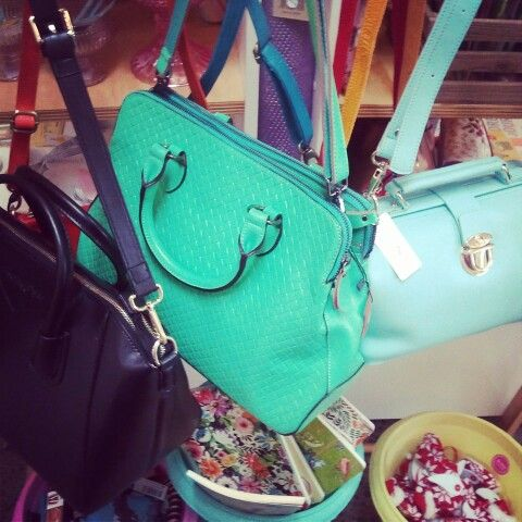 oooh i love these bags! such great colours and classic styles.