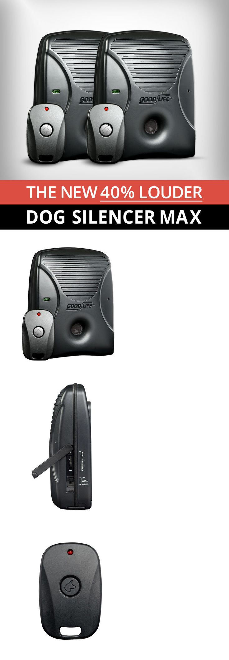 Sonic Trainers 146244: Dog Silencer® Max Multi Pack - Maximum Training For Stubborn Barking Dogs -> BUY IT NOW ONLY: $176.9 on eBay!