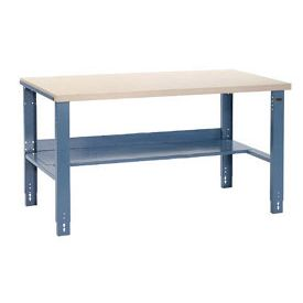 For basement  60 X 30 Adjustable Height Industrial Workbench