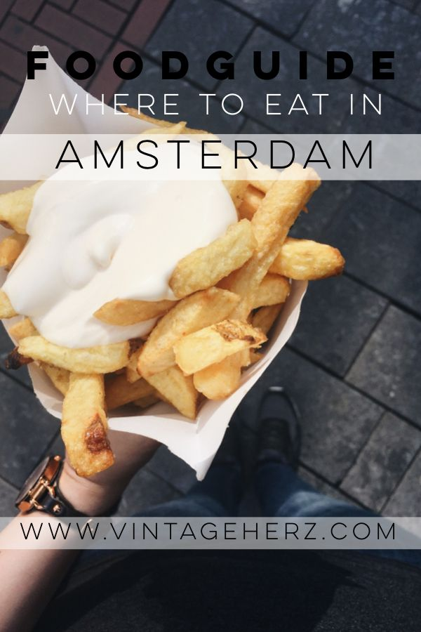 Foodguide – Restaurant Empfehlungen für Amsterdam / Where to Eat in Amsterdam