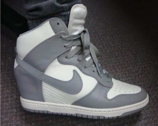 Nike sneaker wedges. I'm on the fence with this one