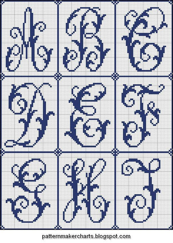 Free Easy Cross, Pattern Maker, PCStitch Charts + Free Historic Old Pattern Books: Sajou No 204