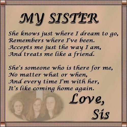 :) Love My Sister So Much!!!