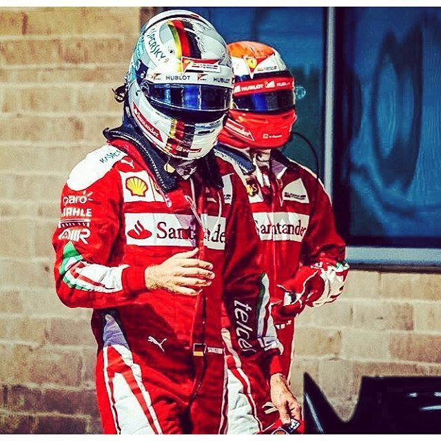 Sebastian Vettel and Kimi Raikönën Scuderia Ferrari SF16-H at the Italian Grand Prix 2016