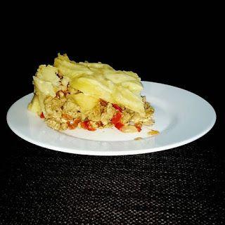 Mieszanko: Zapiekanka ziemniaczana z mięsem mielonym.