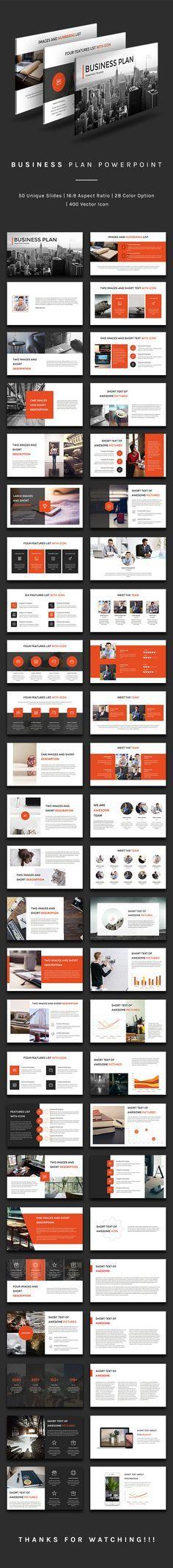 Business Plan Powerpoint — Powerpoint PPT #marketing presentation #clean presentation • Download ➝ https://graphicriver.net/item/business-plan-powerpoint/19193700?ref=pxcr