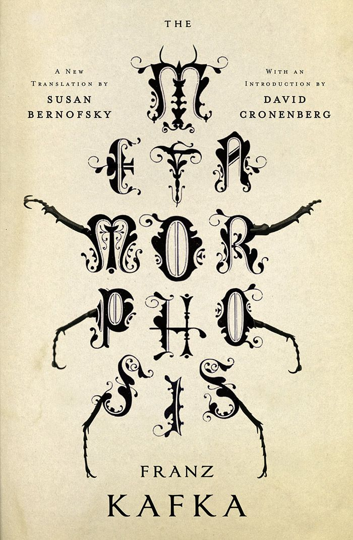 Jamie Keenan creates a masterful cover for 'The Metamorphosis'