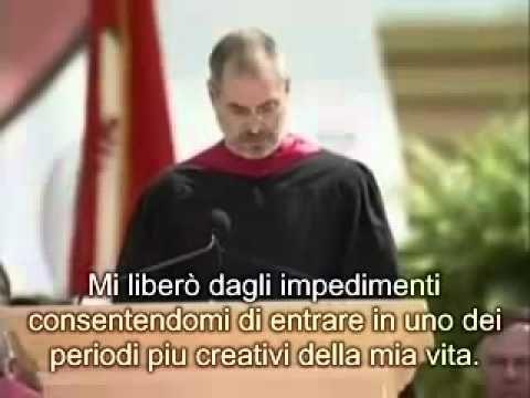 Discorso di Steve Jobs ai neolaureati di Stanford (sottotitoli in italiano) siate affamati...siate folli!!!!!