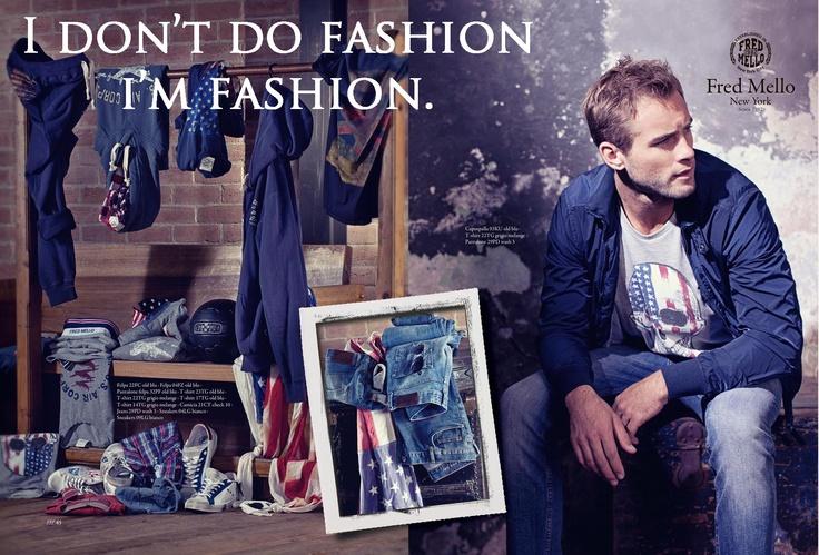 Fred Mello FASHION#fredmello #fredmello1982 #newyork #accessories#springsummer2013 #accessible luxury #cool #usa #mancollection