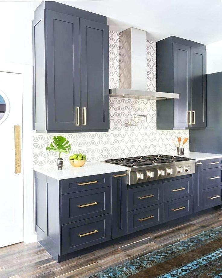 Blue Kitchen Cabinets Amusing Kitchen Best Navy Cabinets