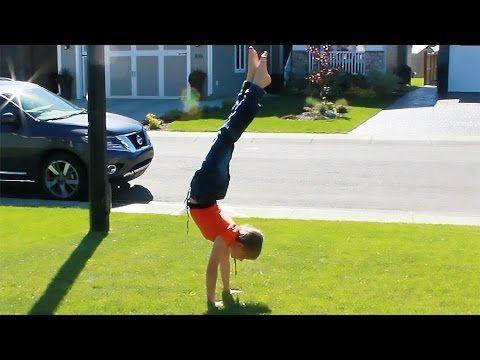 NEW Press handstand drills - YouTube