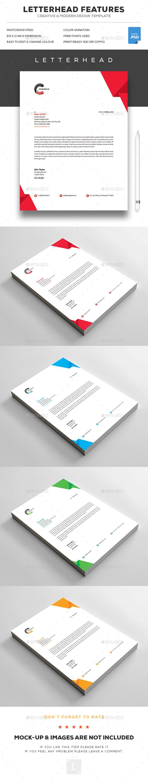 7 best letterhead design images on pinterest business branding letterhead spiritdancerdesigns Choice Image