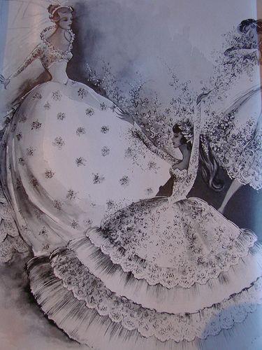 Vintage brides magazine ad