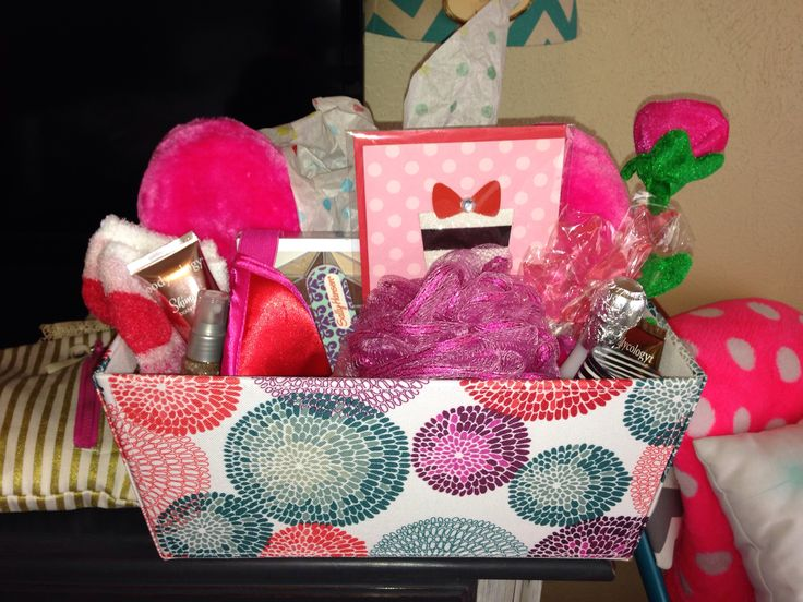 Gift Basket For Teenage Girl Birthday