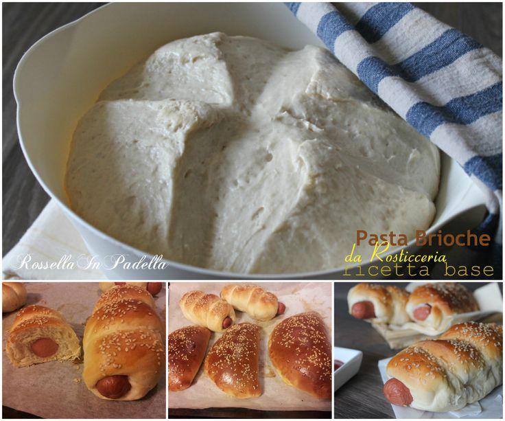 Pasta brioche da rosticceria