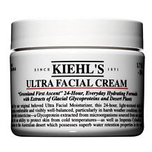 Kiehl's Ultra Facial Cream - a wonderful every day moisturiser, and you can even use it before bed as a night cream as well