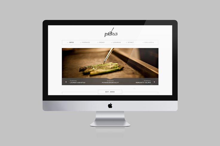 Web design. Postres restaurant